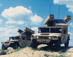 Avenger Low Level Air Defense Vehicle.  ( For all of you who wanted to know what I did in the Army. )