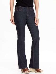 The Best Jeans for an Apple Body Shape: Bootcut Jeans