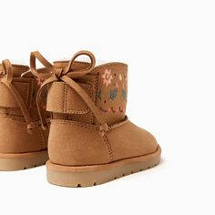 EMBROIDERED LIGHTWEIGHT BOOTS-SHOES AND BAGS-BABY GIRL   3 months-3 years-KIDS   ZARA United States