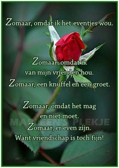 Zo maar omdat vriendschap ons samen gelukkig maakt xxx Lydia Love You Friend, Flirty Quotes, Thought Bubbles, Special Words, Proverbs, Wise Words, Positive Quotes, Bff, Cool Pictures