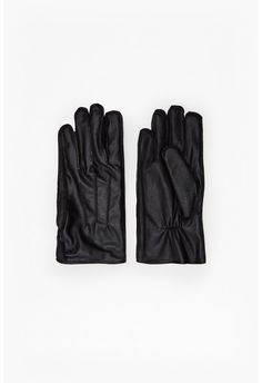 FCUK leather gloves
