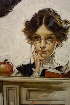 Leyendecker, an artist with almost as many Saturday Evening Post covers as Rockwell. Leyendecker, an artist with almost as many Saturday Evening Post covers as Rockwell. Jc Leyendecker, Graphisches Design, Art Et Illustration, Traditional Art, Painting Inspiration, Painting & Drawing, Art Reference, Character Art, Book Art
