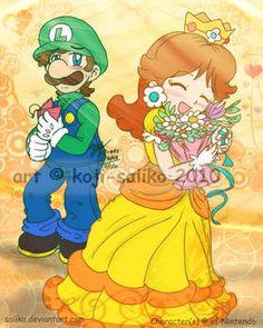 Starting the Year With You by Not-WisqoXD on DeviantArt Mundo Super Mario, Super Mario Art, Super Mario Brothers, Mario Bros, Super Smash Bros, Super Princess Peach, Princesa Daisy, Yoshi, Luigi And Daisy