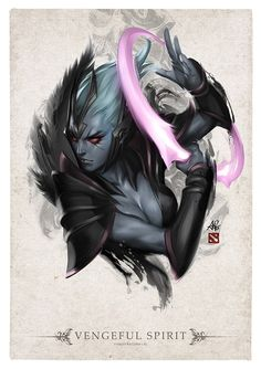 Vengeful Spirit by Artgerm