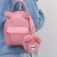 GRAFEA www grafea com # compras # mochila Cute Mini Backpacks, Stylish Backpacks, Girl Backpacks, Mini Mochila, Kawaii Bags, Mode Blog, Backpack Purse, Grafea Backpack, Cute Purses