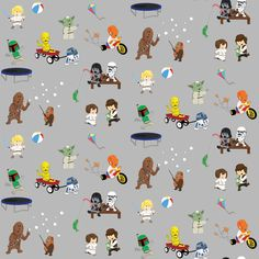 Star Wars Kids Gift Wrap