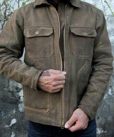 Ooooh Woolrich + West America Waxed Canvas Jacket.