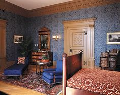 """This is known as the Claude Room, named for French painter, Claude Gellee. Several prints after paintings from Claude Lorraine originally hung in this room and are displayed here today. """
