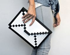 Nostalgic case for iPad and Macbook by BIG BIG PIXEL. Really cute