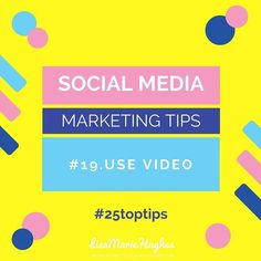 Social Media Marketing Tips: #19 Use Video  Start using videos people will warm to you and start to Know Like & Trust you and you will get better engagement on social media.  So do you want to learn how to Crush it on Instagram?  Imagine adding an easy 5-10 leads per day to your business with Instagram... for FREE! GO HERE: http://ift.tt/2lfqjlv  Double Tap & TAG a friend if you like these awesome tips!  Want to learn more about How I help Home Business Owners Generate Leads and Income…