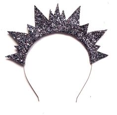 glitter spiked crown headband by crown and glory | notonthehighstreet.com