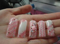 Gel Marble + stones by munny96 - Nail Art Gallery nailartgallery.nailsmag.com by Nails Magazine www.nailsmag.com #nailart