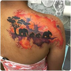 50 Original Elephant Tattoo Designs. #7 is Genius.