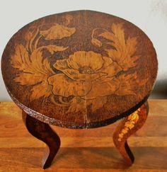 Vintage Pyrography  Wood Burned Decorative by RagNBoneVintage, $125.00