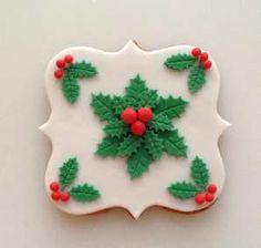 pierniki świąteczne białe