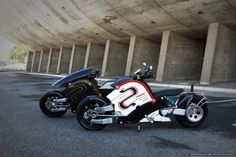 """Awesome new electric motorcycle looks like something out of """"Akira""""'s NeoTokyo 