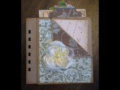 Scrapbook Tutorial: Multi-Pocket Page for Mini Albums