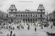 Gare du nord 1913