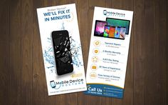 Create a compelling rack card for Mobile Device Doctors. by Graphics Hill
