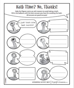 Don't Let the Pigeon Drive the Bus! printable coloring