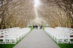 Natural wedding location
