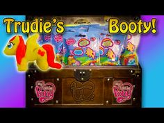 My Little Pony Blind Bags! W/ a Play-Doh Pony! MLP! Trudie's Booty! - YouTube