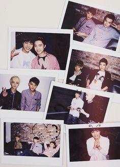 EXO - Polaroid Photos
