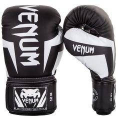 Guantes Boxeo VENUM Elite Boxing Black /White - €68.99   https://soloartesmarciales.com    #ArtesMarciales #Taekwondo #Karate #Judo #Hapkido #jiujitsu #BJJ #Boxeo #Aikido #Sambo #MMA #Ninjutsu #Protec #Adidas #Daedo #Mizuno #Rudeboys #KrAvMaga #Venum