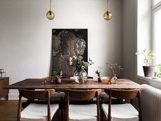 Ideas and inspiration Dining Room, Dining Table, Fine Dining, Color Combos, Furniture, Instagram, Home Decor, Rooms, Decorating