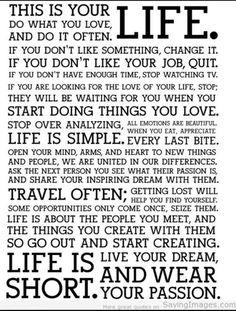 :) lovely words