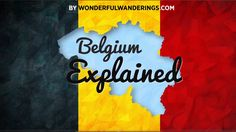 Belgium Explained: language and political structure - YouTube