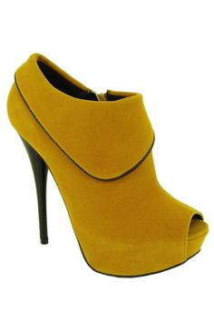 Yellow Peep Toes! $29.99