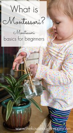 What is Montessori? Here are some Montessori basics and some common Montessori myths.