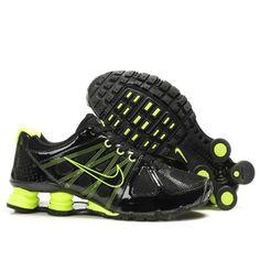 Nike Shox Turbo 2 Black Yellow Men Shoes $79.59