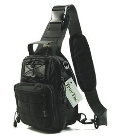 We took our popular Stage I Compact Sling Bag and made it better yet. We call it the Stage II. Upgrades Include: -Molded Zipper pulls (no more Paracord knots coming loose) -Shoulder Pad for Carry Stra