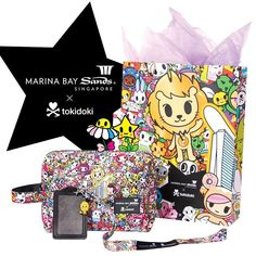 We've collaborated with the iconic @marinabaysands to create an exclusive collection! These ultra cute products include @simonelegno 's tokidokified take on Singapore's majestic Merlion. ✨ #tokidoki #marinabaysands #singapore #merlion #simonelegno