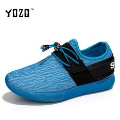 YOZO Women Shoes Fashion Elastic Band Breathable Mesh Loafers Women Flat Comfortable Casual Brand Shoes Women Zapatos Mujer 2017