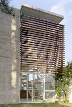 Next page publicized porch design plans Villa Design, Facade Design, Exterior Design, House Design, Wood Architecture, Concept Architecture, Residential Architecture, Architecture Details, Chinese Architecture