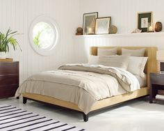 Presidio Bed // Download www.RoomHints.com/app for interior design ...