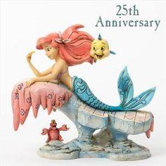 Want - Jim Shore Disney Dreaming Under The Sea figurine ariel, the little…