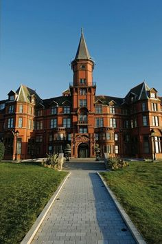 Hotel Slieve Donard, Newcastle, Northern Ireland, I worked here for a short time.