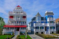 I wish! -- New Jersey Victorian homes on Cape May