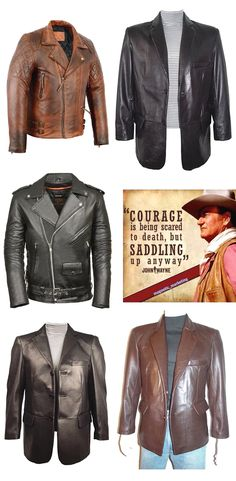 Italian Style Imported HQ Genuine Leather Jacket In Brown For Men