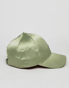 019e00d08c8 adidas Originals Satin Cap In Green