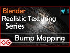 Blender Bump map Tutorial - How to Use Bump Map in Blender(Cycles blender bump mapping) - YouTube