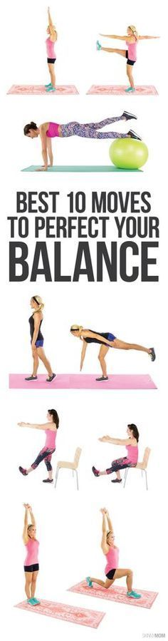 Find your center with these 10 moves that are sure to improve your balance!