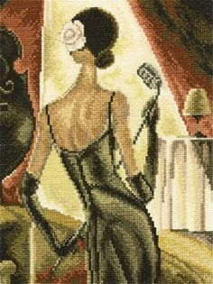 A BRAND NEW COUNTED CROSS STITCH KIT JAZZ SAMBA RTO #RTO #Kit