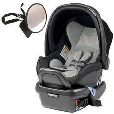 Peg Perego Primo Viaggio 435 Car Seat w Back Seat Mirror Alcantara Limited Edition ** Visit the image link more details. (This is an affiliate link) Peg Perego, Back Seat, Baby Car Seats, Image Link
