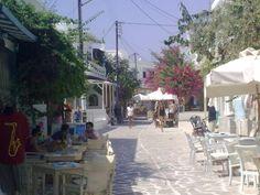 Antiparos main street