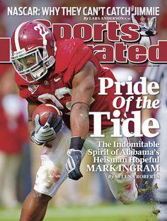 Mark Ingram Cover of Sports Illustrated